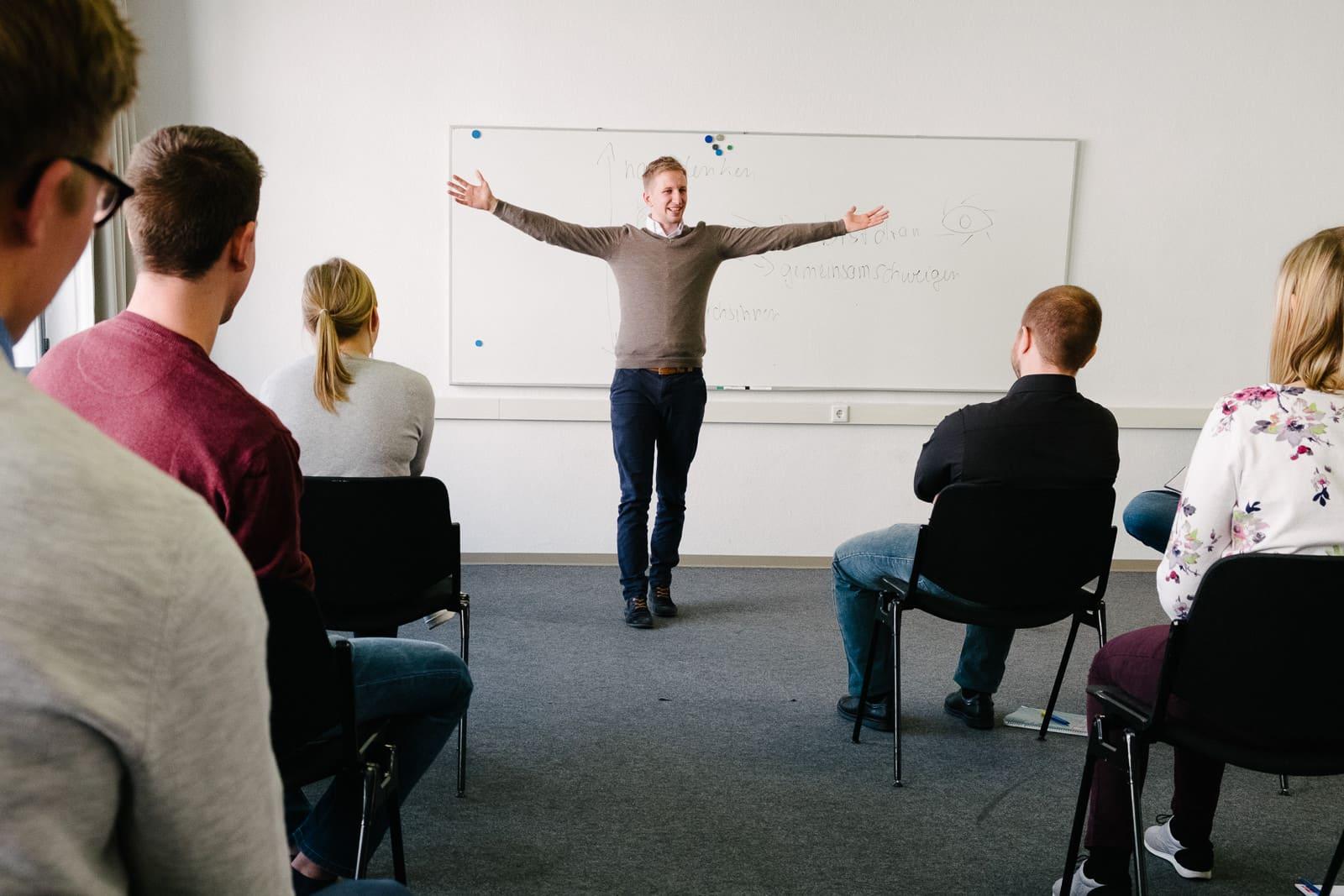 Redeangst überwinden - selbstbewusst präsentieren