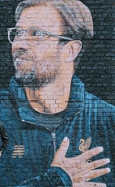 Jürgen Klopp Mural Liverpool
