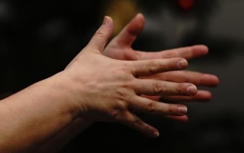 Wohin mit den Händen